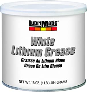 LubriMatic 11350 White Lithium Grease, 16 oz. Can