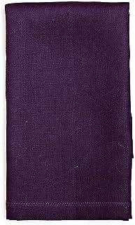 Serviettes de table en tissu Linge De Maison Tissu Serviette Western Couleur Pure Dessous De Plat Chiffon D'essuyage 1 Paq...