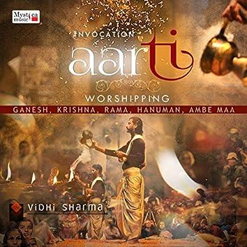 Aarti - Worshipping Ganesha, Krishna, Rama, Hanuman, Ambe Maa
