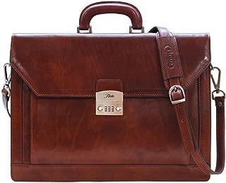 Floto Venezia Combo Full Grain Leather Briefcase Attache