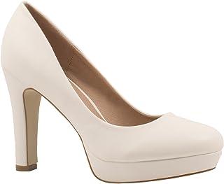 Zapato de Tacón Alto Mujer Plataforma Chunkyrayan