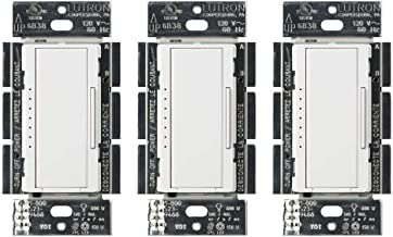 Lutron MACL-153M-WH-3 Maestro C.L Dimmer Switch (3 Pack) | for Dimmable LED, Halogen & Incandescent Bulbs, Single-Pole or Multi-Location | MACL-153M-WH | White