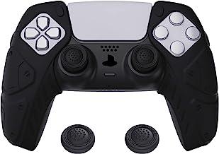 PlayVital Cover Grip Silicone Separabile per PS5 Controller Custodia Skin Protettiva Antiscivolo per Dualsense Joystick Co...