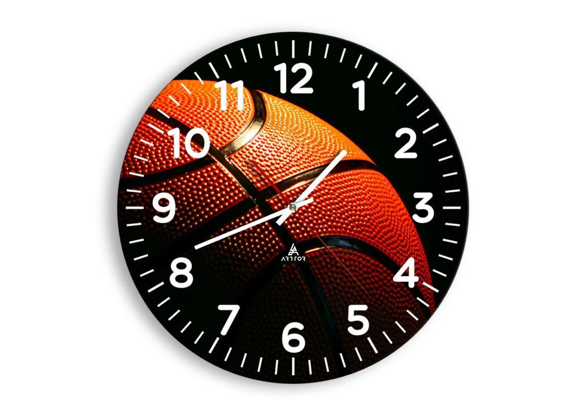 Reloj de pared de baloncesto 25,4 cm color y para pared W118 ...