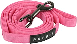 Puppia Soft Two-Tone Dog Lead, Pink,Large