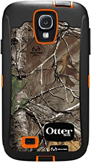 OtterBox Defender Series Case and Holster for Samsung Galaxy S4 - Carrier Packaging - Realtree Camo - Black