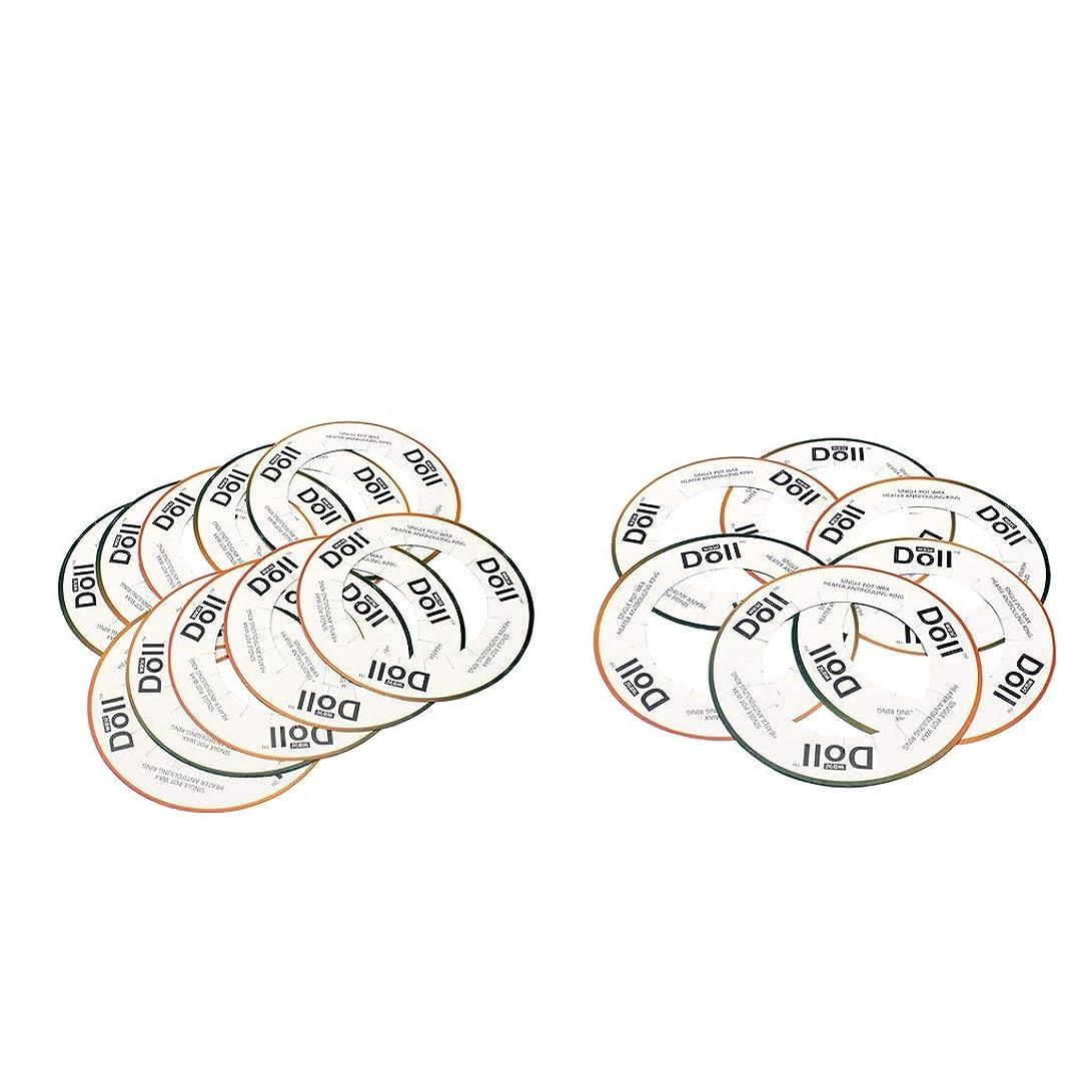 ボウリングアクロバット引き出すsharprepublic ウォーマー保護カラー ワックスウォーマーカラー 約20個入り