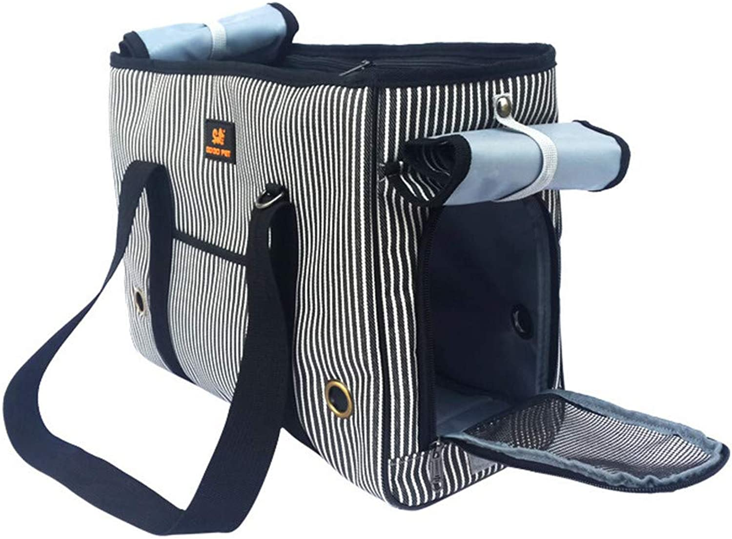 Dog Backpack Pet Cat Carrying Cloth Strap Pet Backpack MultiFunction Portable Suitable for Small Dogs and Cats
