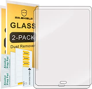 [2-Pack]-Mr.Shield for Samsung Galaxy Tab S3 / S2 9.7 [Tempered Glass] Screen Protector [0.3mm Ultra Thin 9H Hardness 2.5D Round Edge] with Lifetime Replacement