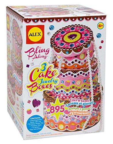 Alex - 0ALE178C - Bijou et Cosmétique - Cake Jewelry Boxes