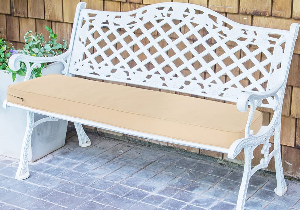 Outdoor Indoor sold out Fees free Bench Cushion 40.6 Settee Swing