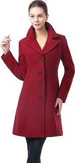 Women's Joan Wool Blend Walking Coat (Regular Plus & Short)