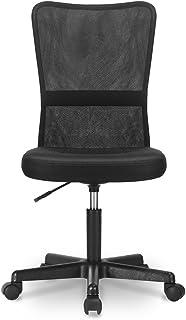 Nobranded Mesh backrest Office Chair Adjustable headrest armrest Reclining Comfortable backrest ergonomically Designed Computer Chair Home Office Black