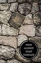 Food Allergy Diary Template