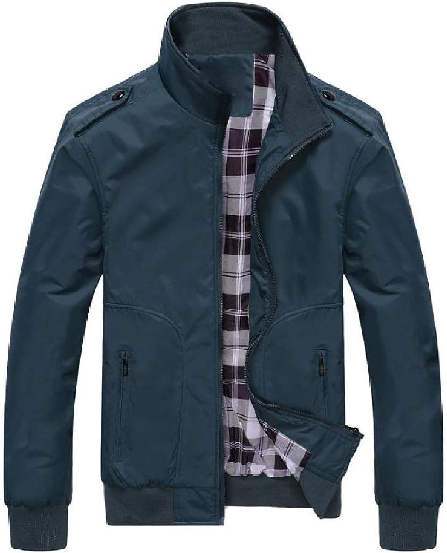 fdbbdfe9c Aooword Men Oversized Windbreakers Outdoor Windproof Sport Sport Sport Coat  Jacket d0bed2