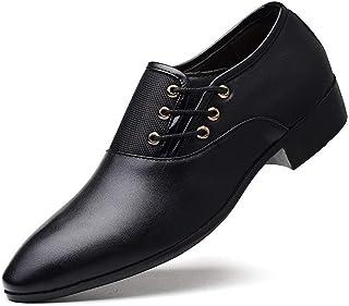 Men's Oxford Shoes Business Casual Formal Shoes (Color : Black, Size : 40)