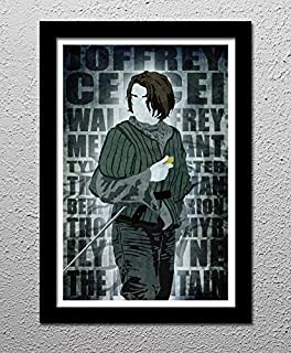 Arya Stark's Hit List - Game of Thrones - HBO - Original Minimalist Art Poster Print