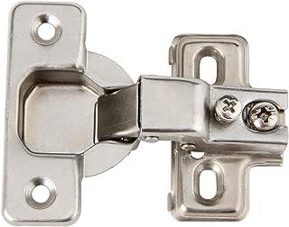 Silverline Face Frame Concealed Euro 105Deg Regular Closing Compact Cabinet Hinges, 25 Pack