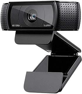 غطاء كاميرا الويب For C920 Pro Webcam HD Smart 1080p Webcam For Widescreen Video Call Laptop USB Camera 15MP Webcam كاميرا...