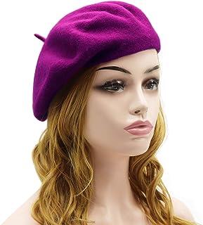 b1f1d3d3c1a Amazon.com  Purples - Berets   Hats   Caps  Clothing