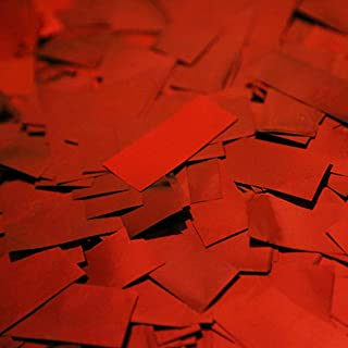 Ultimate Confetti Red Metallic Premium Confetti for Parties-Weddings-Valentines Day-Christmas-Events-Decorations