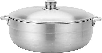 Aramco AI-6928-3 QT Alpine Cuisine Aluminum Caldero, 3.5 Quart, Silver