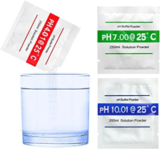Honmofun PH 4.01 PH 7.00 PH 10.01 PH Buffer Solution Buffer PH Buffers Easy PH Powder PH Buffer Powder PH Meter Buffering Solutions PH Buffer Calibration Solution PH Meter Calibration Solution