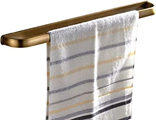 Leyden Retro Bathroom Accessories Solid Brass Antique Brass Finished Towel Bar Home Decor Towel Holder Towel Bars Wall maounted