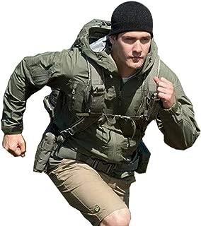 Top Greener Mens Jacket Windbreaker Outdoor Waterproof Soft Shell Lightweight Work Casual Coat
