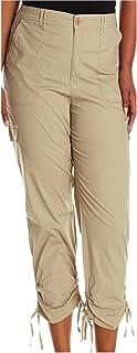 Gloria Vanderbilt Ladies' Zoey Cropped Cargo Pant-tan, 8