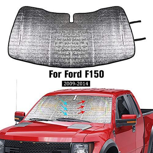 JeCar Windshield Sunshade, Car Front Window Sun Shade Foldable Sun Visor for...