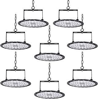 8 * 300W UFO LED Lámpara Alta Bahía Impermeable IP54,Industrial LED Iluminación Comercial Luces para Fábrica, Aeropuerto, ...