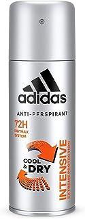 adidas Intensive dezodorant do ciała dla mężczyzn – intensywny, świeży dezodorant antyperspirant – przyjazny dla skóry pH,...