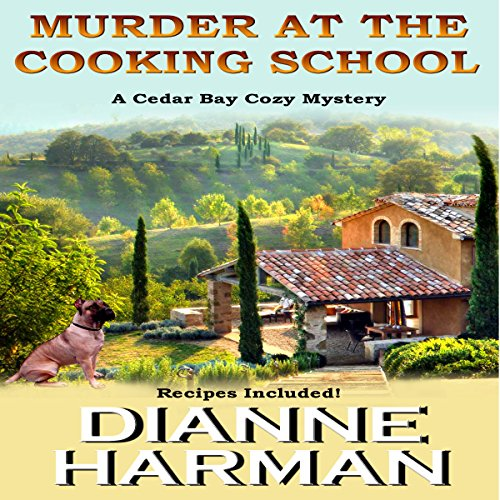 Murder at the Cooking School audiobook cover art