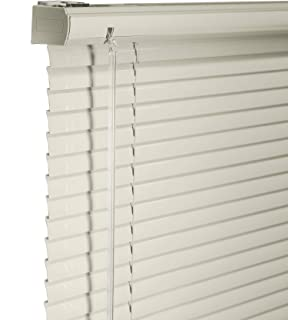CHICOLOGY Custom Made Cordless 1-Inch Aluminum Mini Blind, Blackout Horizontal Slats, Inside Mount, Room Darkening Perfect for Kitchen/Bedroom/Living Room/Office and More - 36