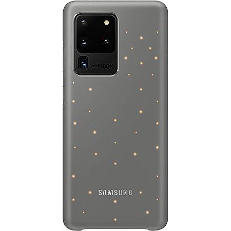 Samsung Led Smartphone Cover Ef Kg988 Für Galaxy S20 Ultra Handy Hülle Led Benachrichtigungen Lichteffekte Schutz Case Grau Elektronik