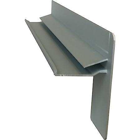 Fensterbank Putz Seitenteile 180 mm in Dunkelbronze