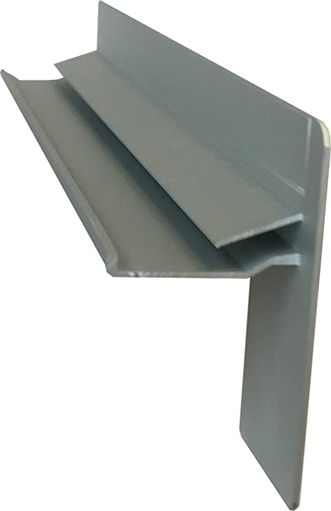 Fensterbank Klinker Seitenteile 340 mm in Anthrazit