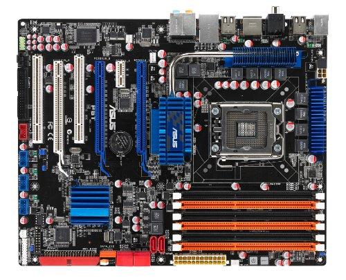 Asus P6T ATX Mainboard (Sockel 1366, kein on Board VGA, QPI MHz FSB)