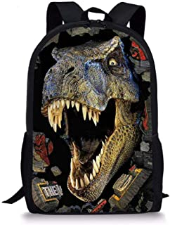 Colour Choice. Personalised Dinosaur//Dinosaurs//T Rex School BOOK BAG