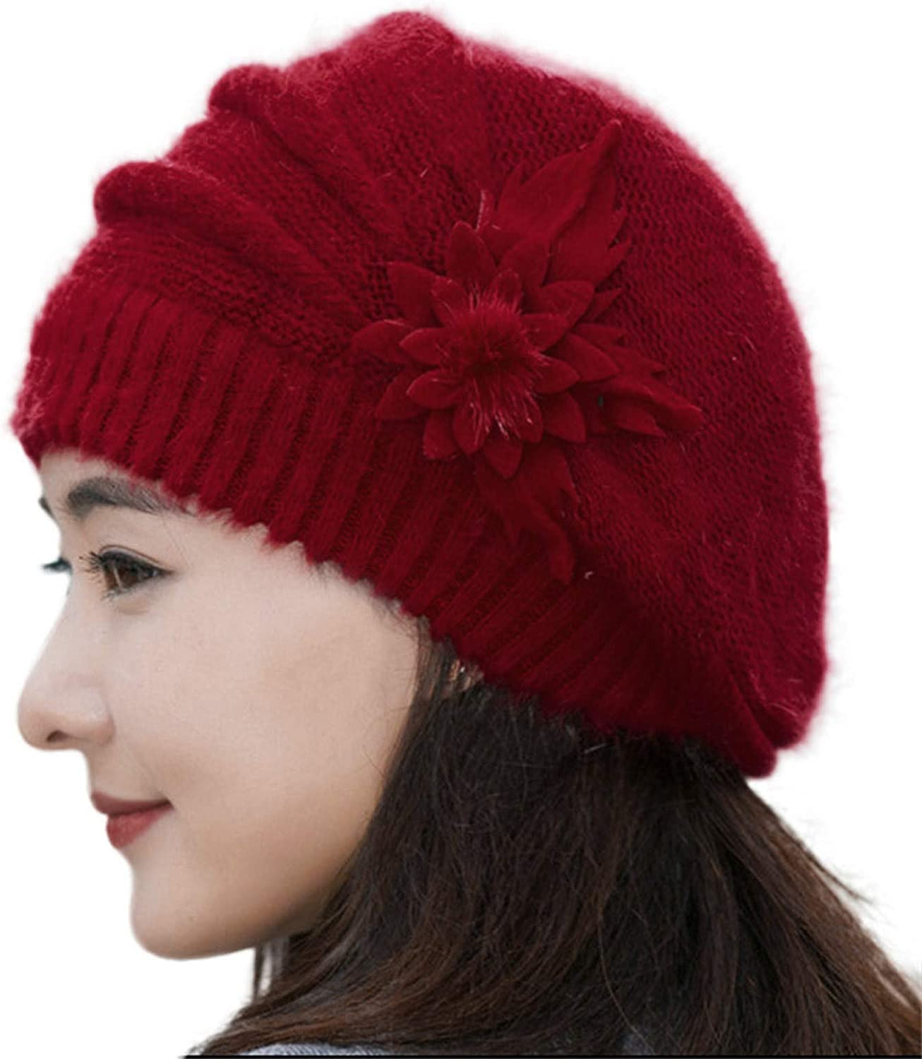 FIN86 Mens and Opening large release sale Womens Hats Knit C caps Courier shipping free shipping Fashion Flower