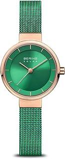 BERING Reloj Analógico Charity Collection para Mujer de Energía Solar con Correa en Acero Inoxidable y Cristal de Zafiro 1...