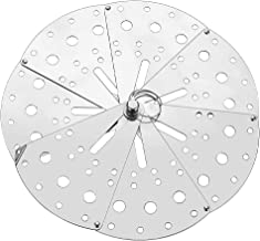 Housoutil Spill Stopper Lid Anti- spill Cover Stainless Steel Adjustable Expandable Boil Over Safeguard Pot Pan Lid Overfl...