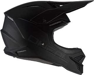 55//56 cm Adulti Unisex Oneal 3SRS Helmet Flat 2.0 Black S Casco Moto MX-Motocross