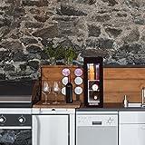 Klarstein Frosty 13L Kühlschrank mit Glastür - Mini-Kühlschrank, Mini-Bar, 13 Liter, 3 Regaleinschübe, 120 Watt, niedriges Betriebsgeräusch, Temperaturbereich: 8° - 18°C, schwarz - 7