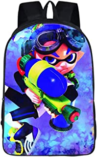 Splatoon Casual Backpack Leisure Backpack School Rucksack Fashion Backpack Printed Sports Daypack Travel Bag (Color : A17, Size : 29 X 16 X 42cm)