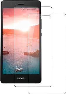 DASFOND 2 Unidades Protector de Pantalla para Huawei P9 Lite, Protector de Pantalla para Huawei P9 Lite Vidrio Cristal Templado,[Sin Burbujas] [9H Dureza] [Alta Definición y Sensibilidad ]