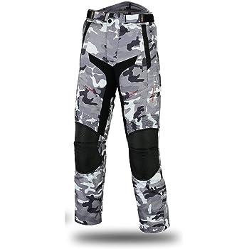 impermeable de tejido de cordura Pantalones MBSmoto para motoristas resistente al viento de la talla XL y de color antracita MP-51