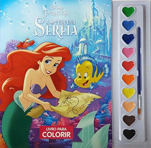 A Pequena Sereia - Volume 1. Coleção Aquarela Disney