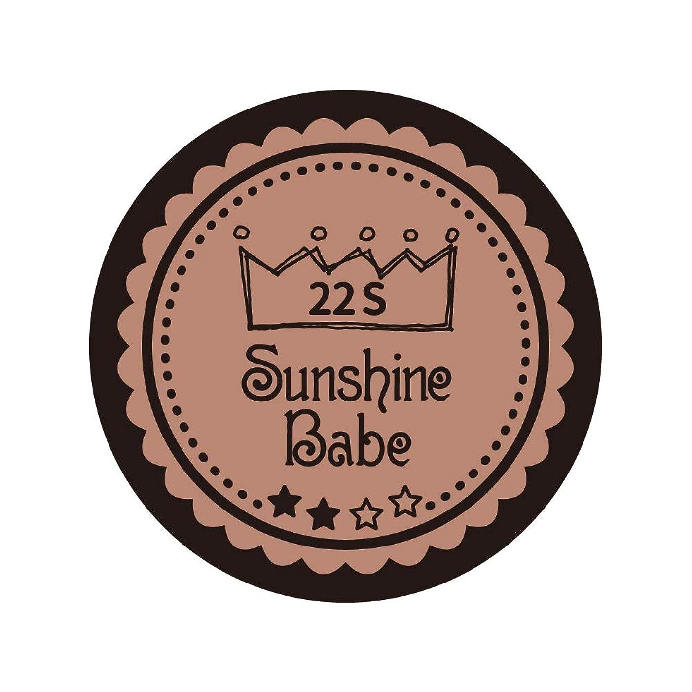 スクラップブック腹痛服を洗うSunshine Babe コスメティックカラー 22S パレロワイヤル 4g UV/LED対応